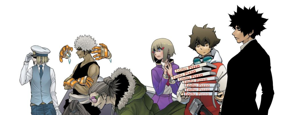 Hi Fi Cluster manga