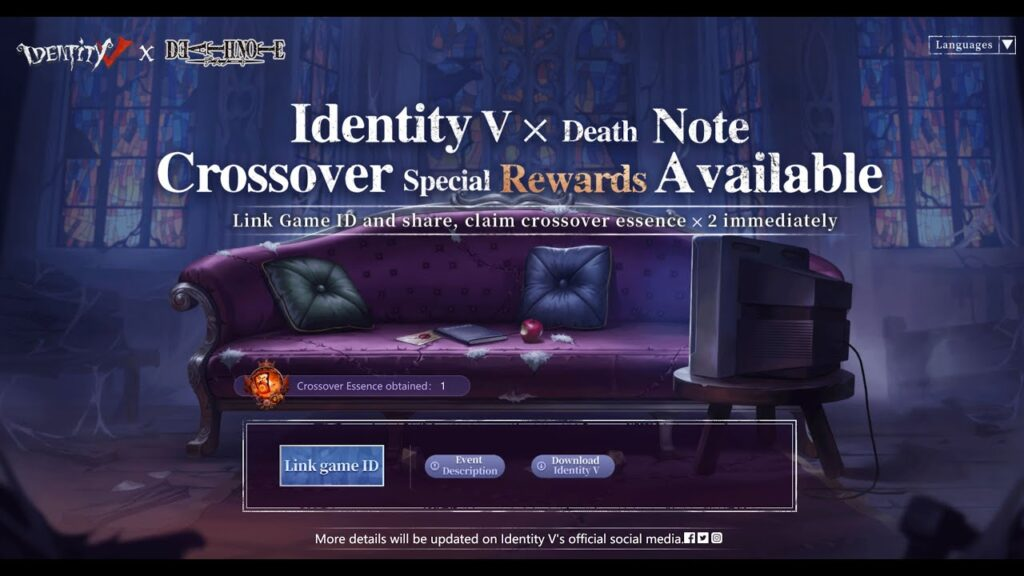 Identity V Death NOte