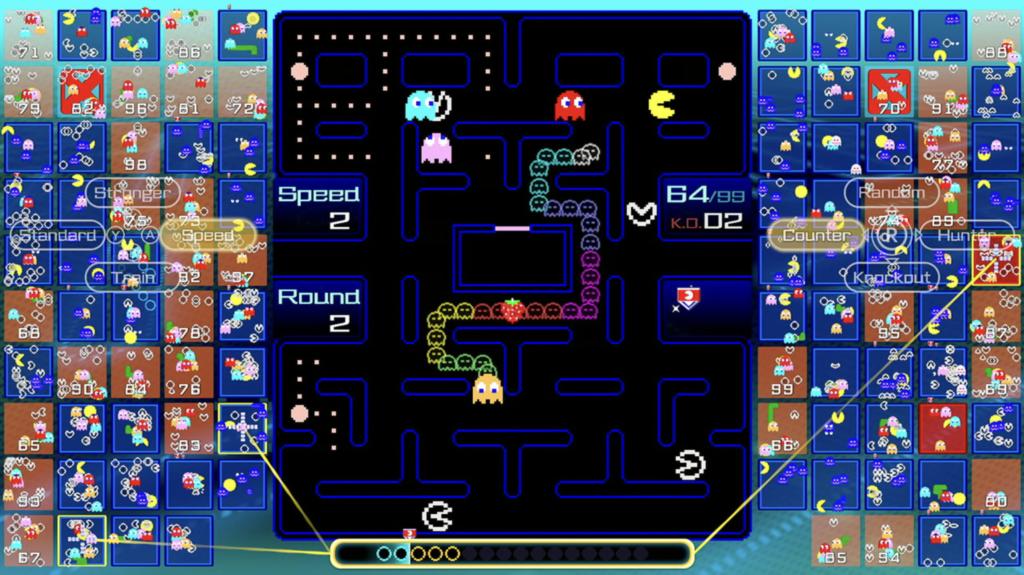 Pac Man 99 Gameplay