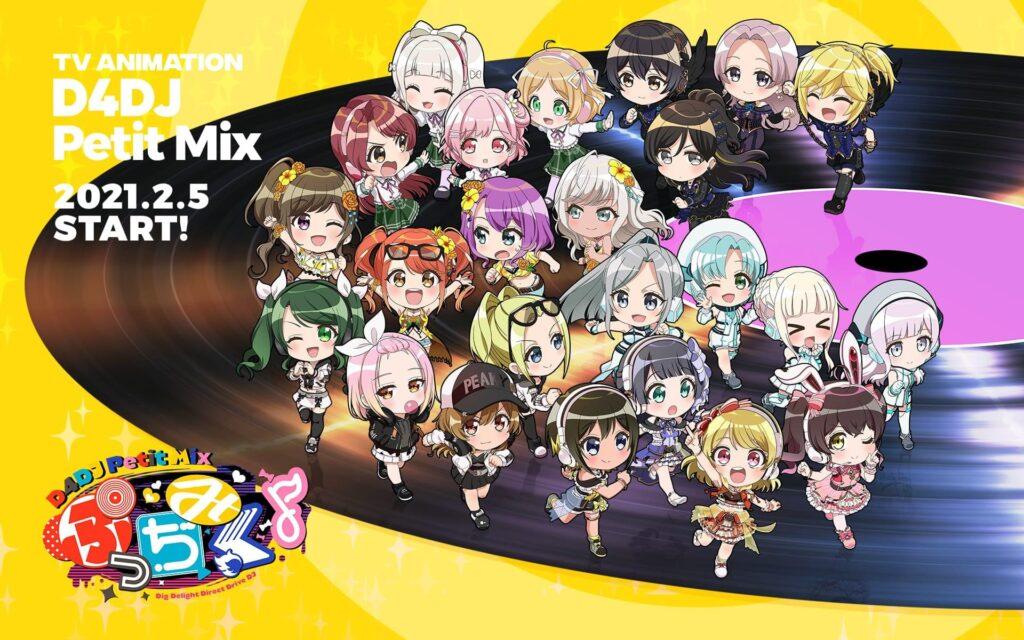 D4DJ Petit Mix, D4DJ Groovy Mix Gets Global Release
