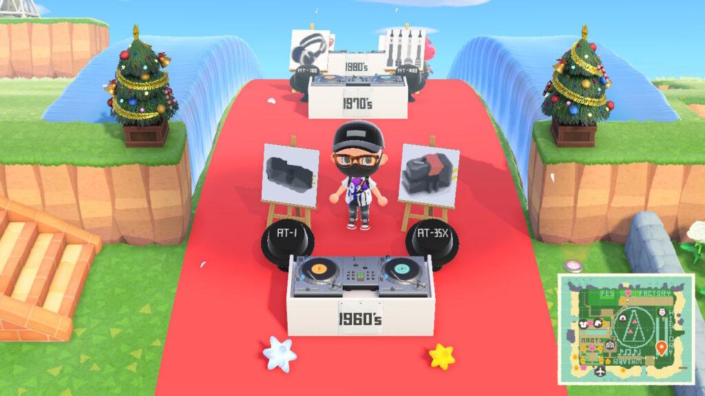 EXILE NAOTO x Audio Technica Animal Crossing New Horizons