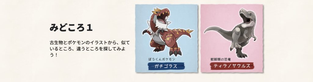 Pokemon Fossil Museum Visual