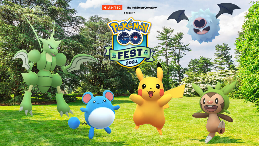 Niantic Announces Pokémon GO Fest 2021