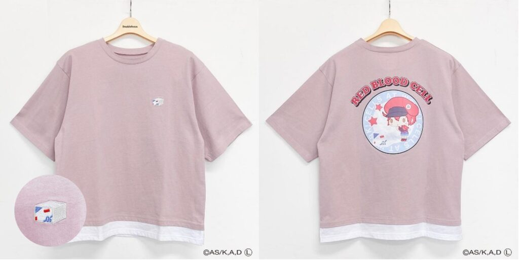 Red Blood Cell T-Shirt from Cells At Work x Sanrio Collaboration