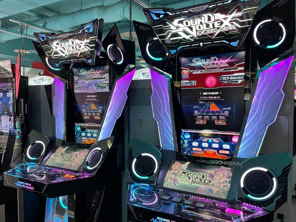 SDVX EG Machines