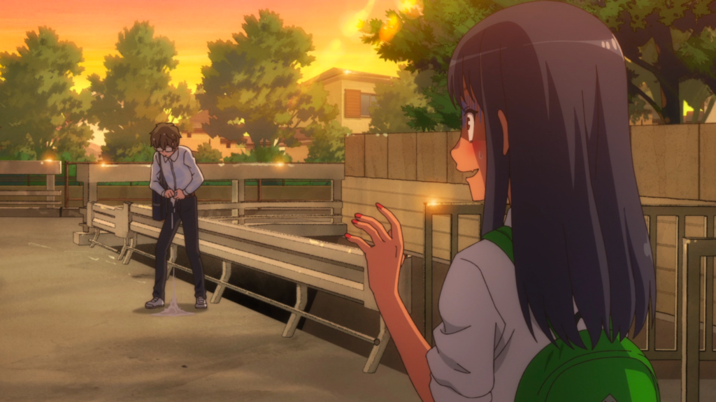 Screenshot from Don't Toy With Me, Miss Nagatoro Episode 1