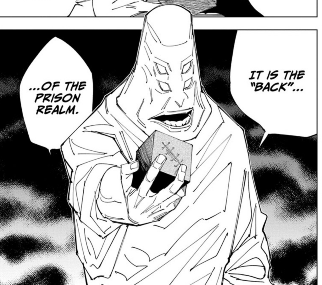 Screenshot from Jujutsu Kaisen Chapter 145