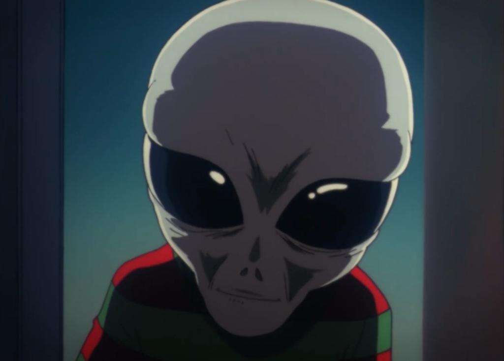 Serial Experiments Lain alien