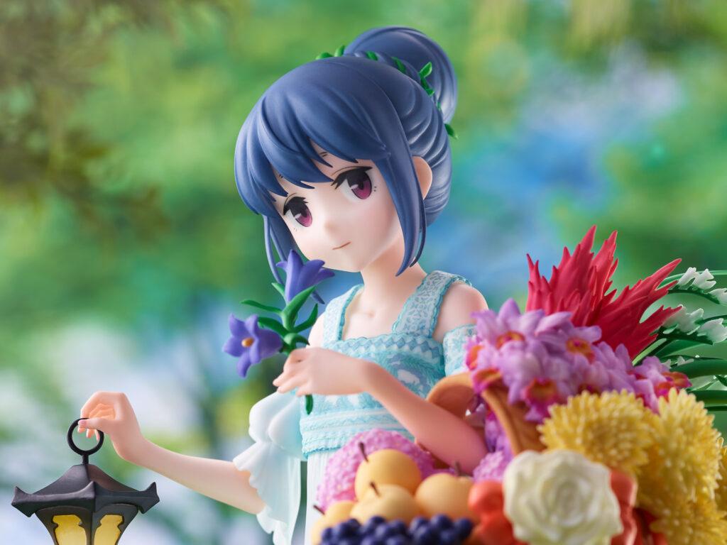 Figure of Shima Rin from Yuru Camp