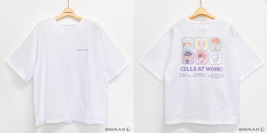 Cells At Work x Sanrio Collaboration T-shirt
