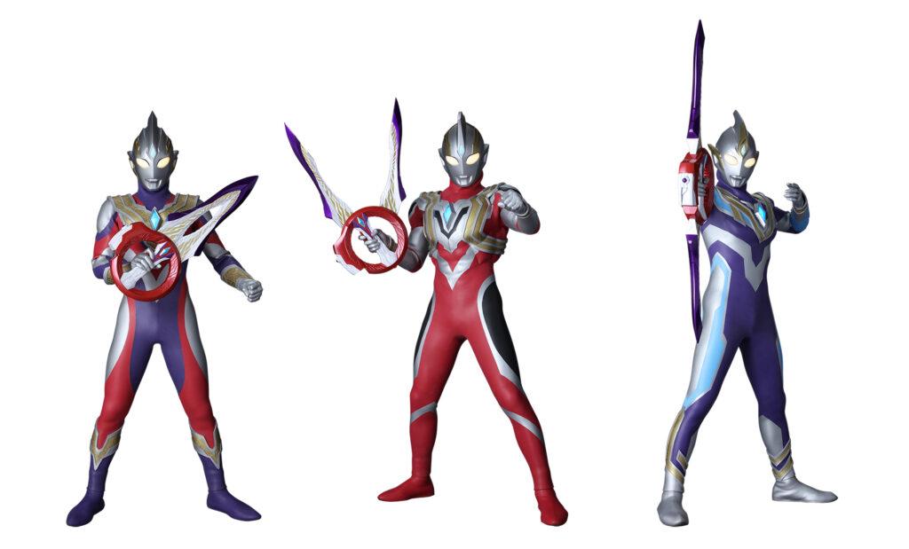 Ultraman Trigger Types