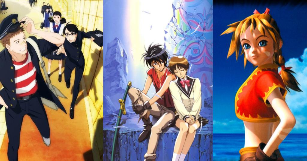 Nobuteru Yuuki character designs