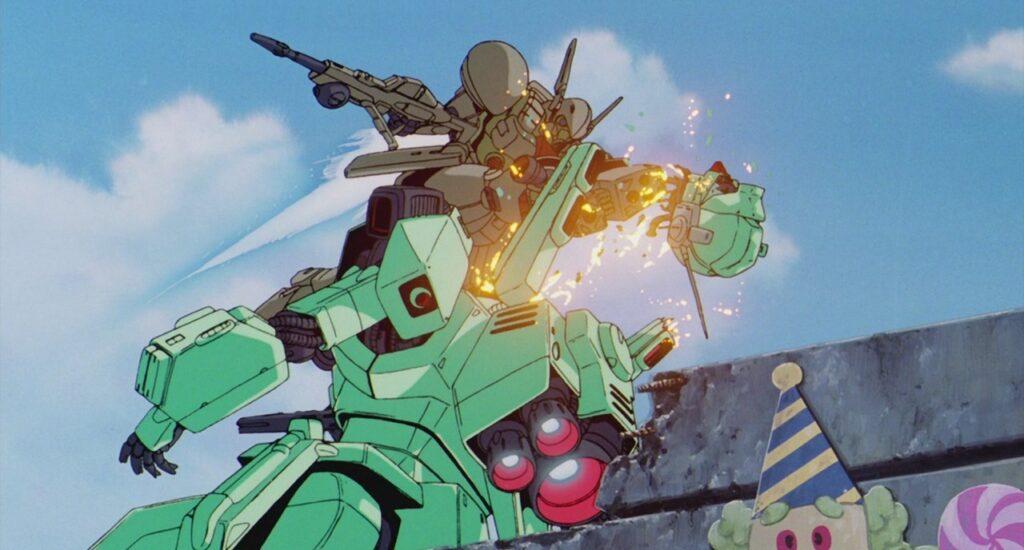 Mobile Suit Gundam F91 Screenshot
