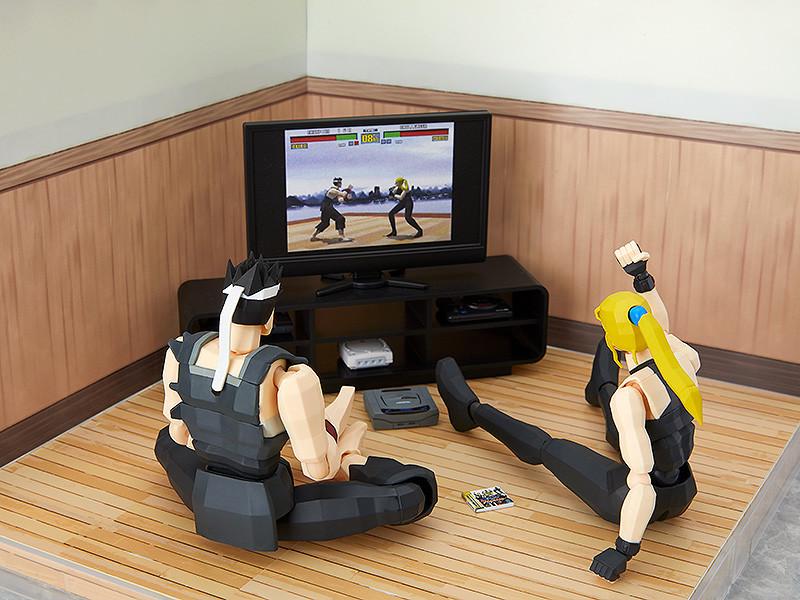 figma plus sega console diorama