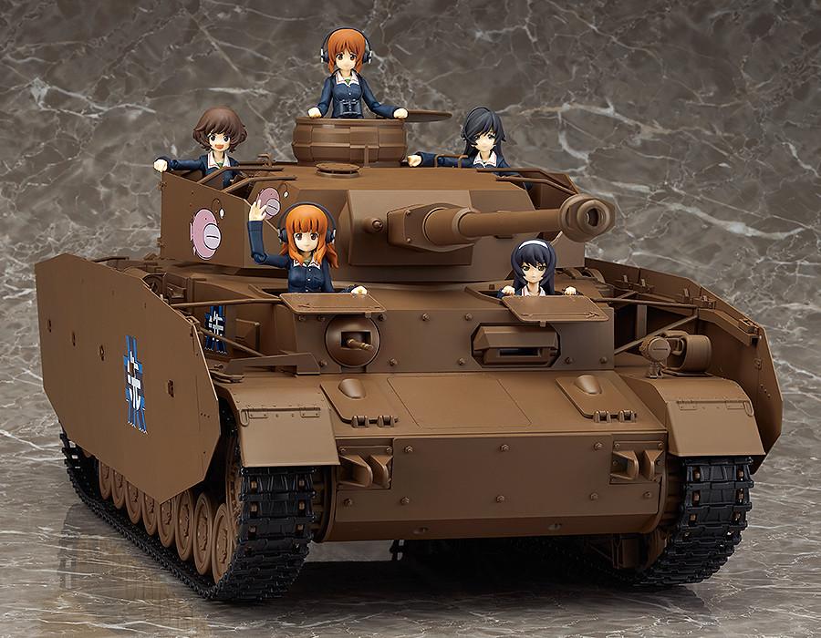 figma vehicles with girls und panzer cast