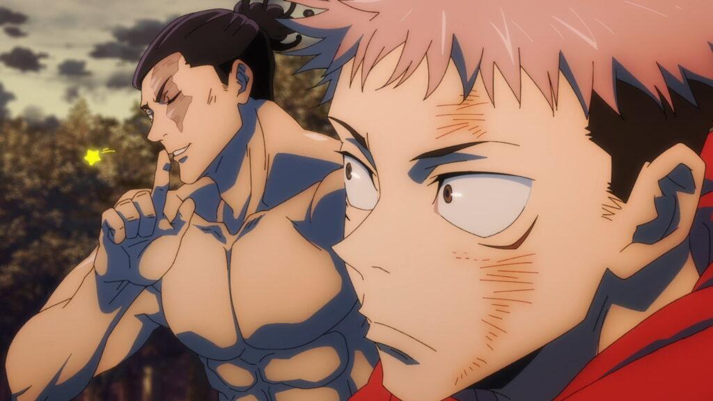 Screenshot from Jujutsu Kaisen anime