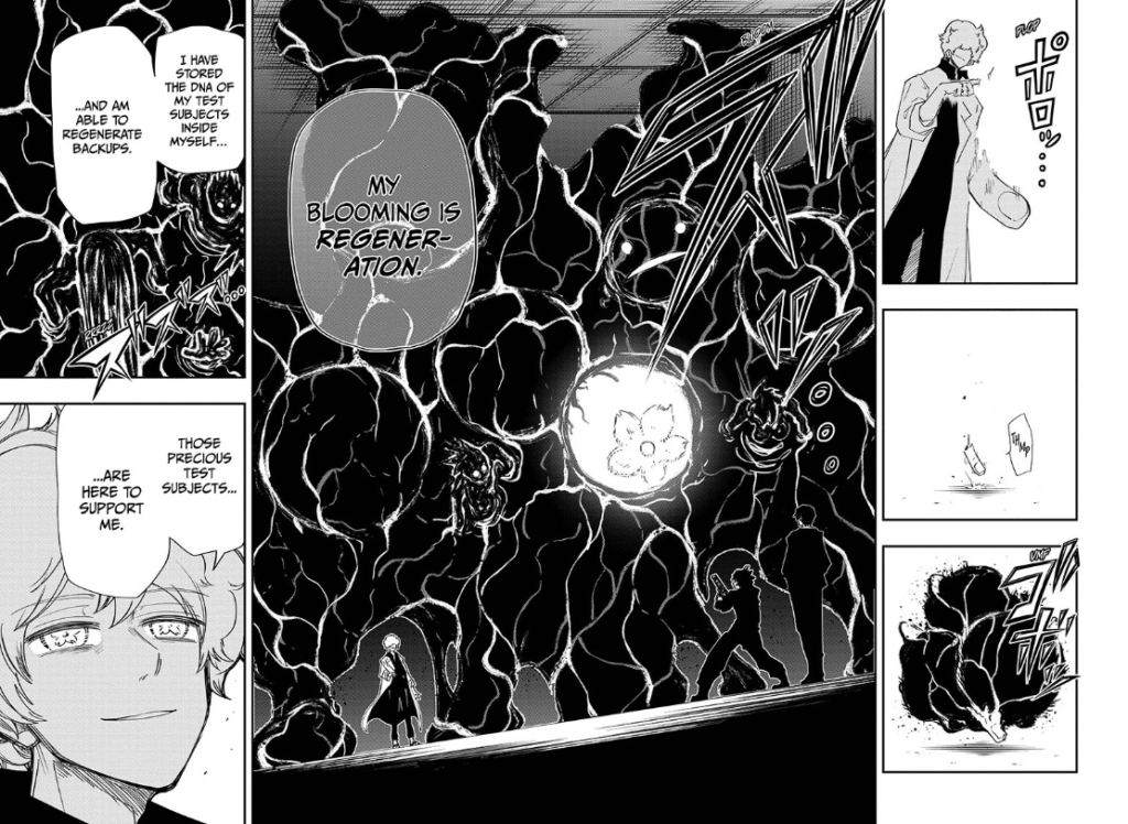 Screenshot from Mission: Yozakura Family Chapter 79
