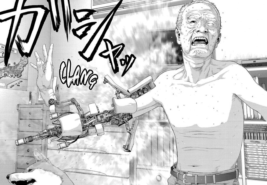 Inuyashiki manga page