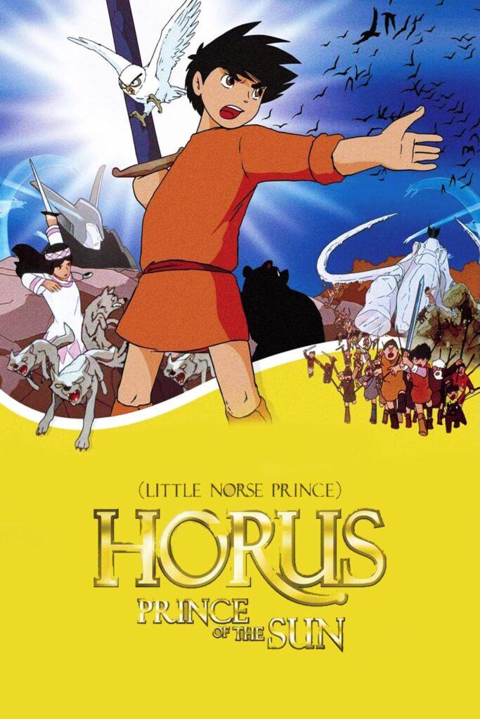 Horus Prince of the Sun anime poster