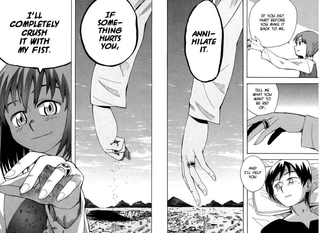 Lucifer and the Biscuit Hammer Manga Page