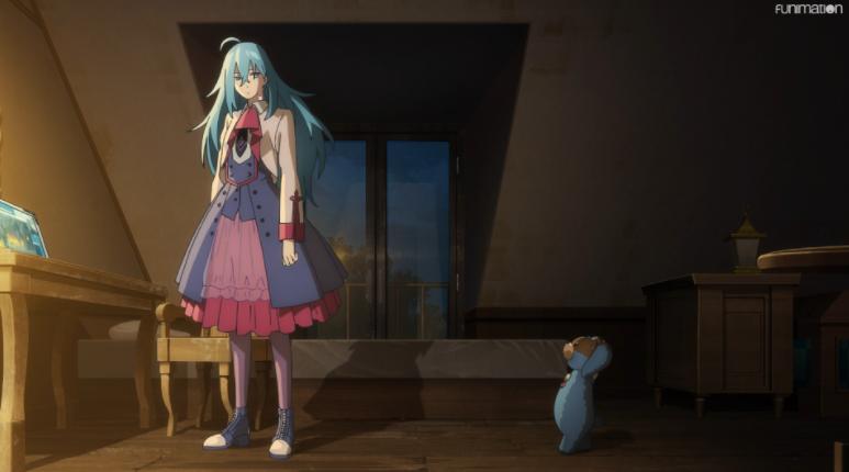 Vivy Matsumoto - Screenshot from Vivy -Fluorite Eye's Song- Episode 1