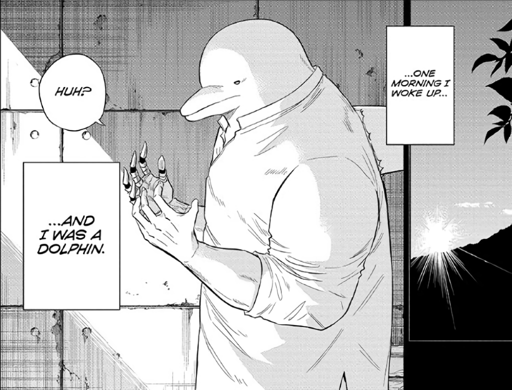 Screenshot from Hard-Boiled Cop and Dolphin Chapter 42