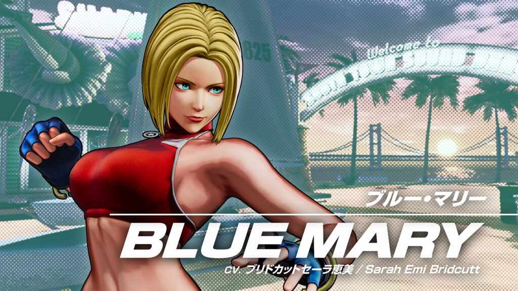 Blue Mary from King of Fighters XV