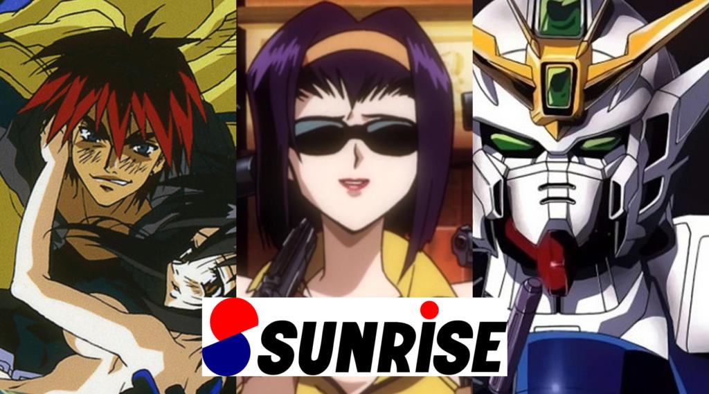 Sunrise 90s Sci-Fi Cover