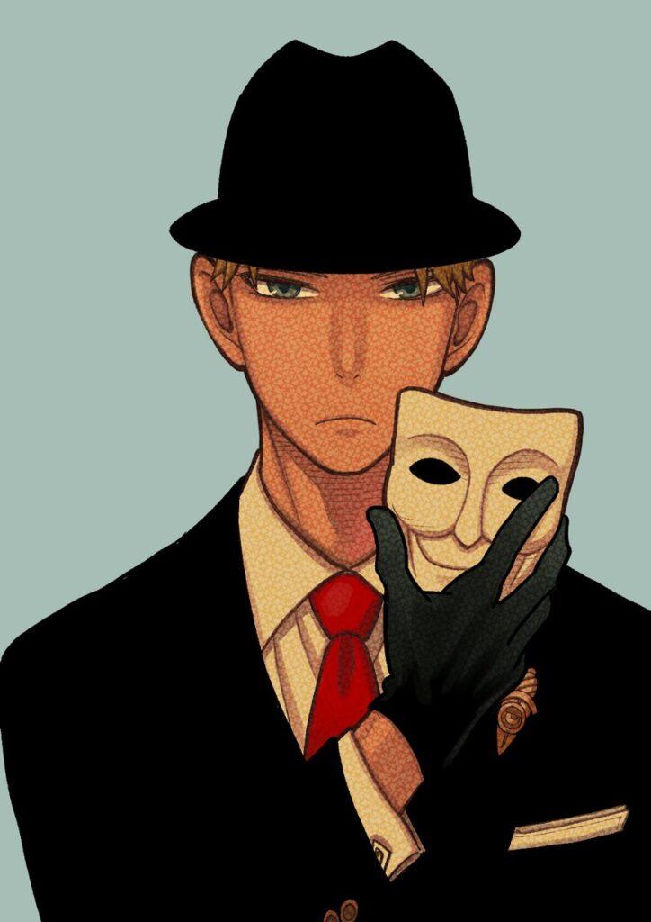 Tatsuya Endo illustration for SPY x FAMILY novel