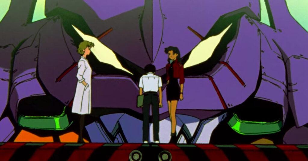 Evangelion Anime Screenshot