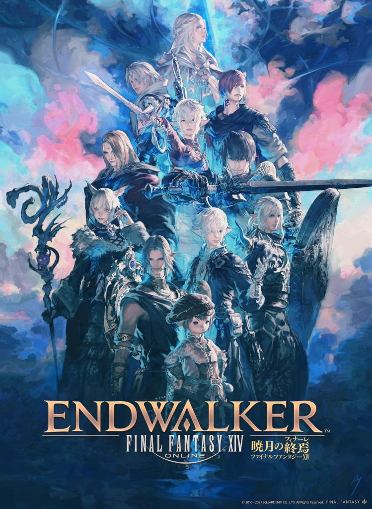 Final Fantasy XIV Endwalker Key Visual