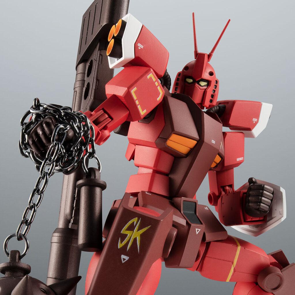 PERFECT GUNDAM III RED WARRIOR Figure Pose with Chain