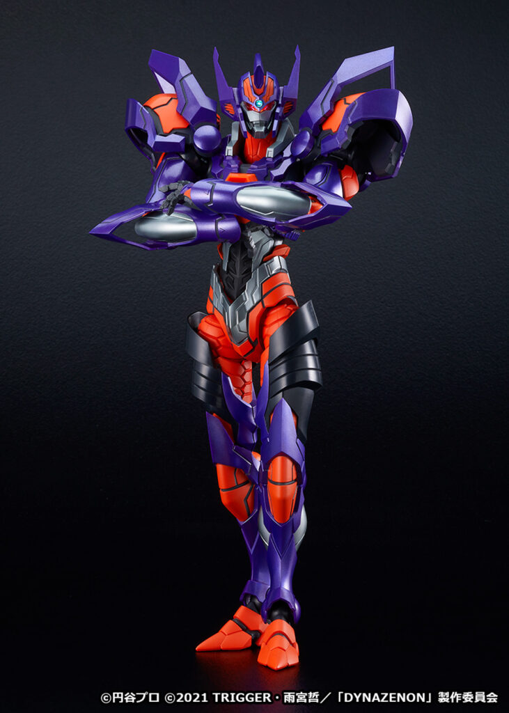 Grid Knight Figure Front
