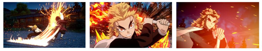 Kyojuro Rengoku in Demon Slayer: Hinokami Kepputan