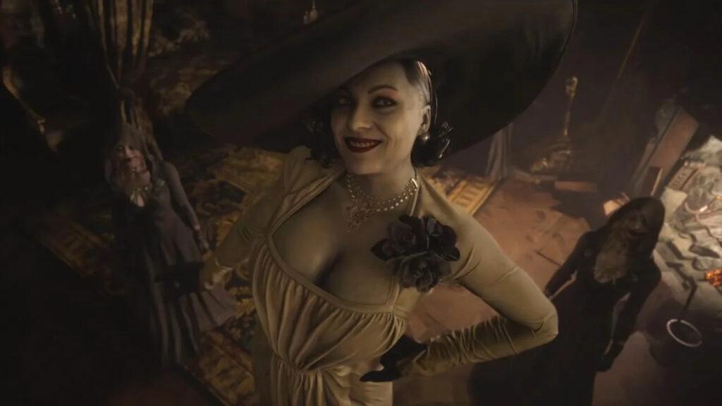 Lady Dimitrescu from Resident Evil Village