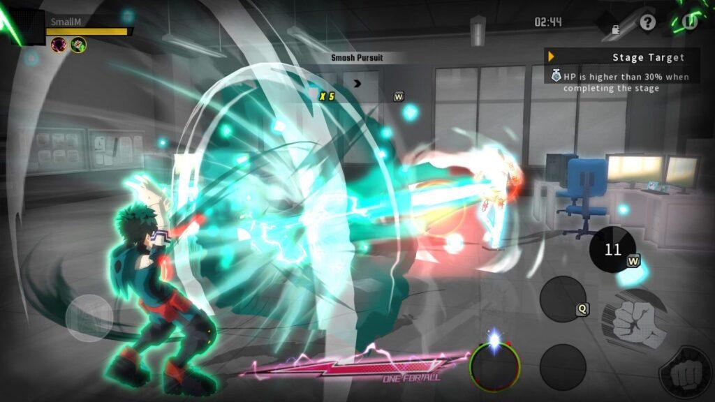 'My Hero Academia: The Strongest Hero' Screenshot