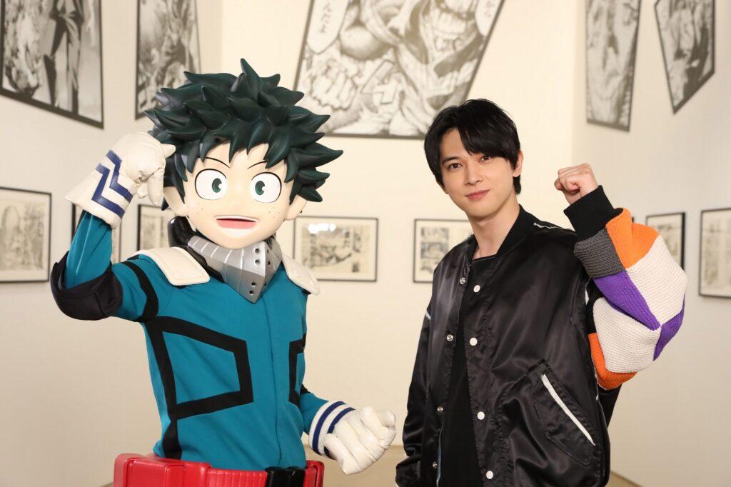 Deku and Ryo Yoshizawa at Drawing Smash exhibition