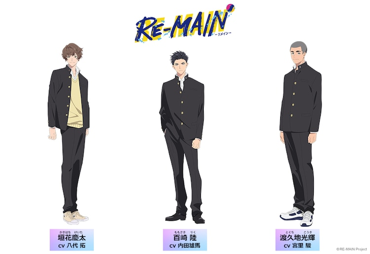 RE-MAIN New Characters