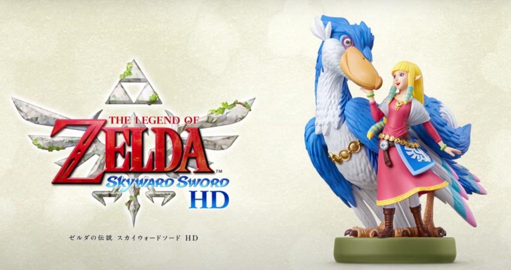 Skyward Sword's Zelda and Loftwing
