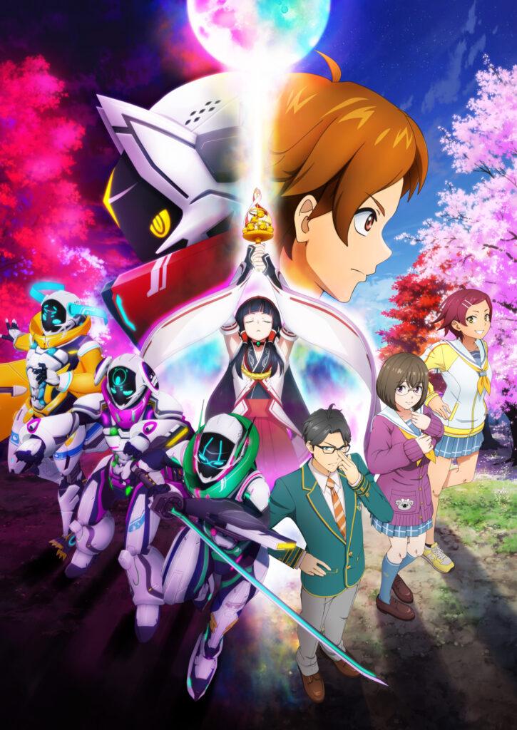 Powered Suit Hero Fights Oni Aliens In Shikizakura Anime PV