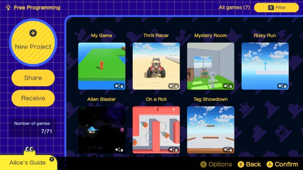 Game Builder Garage Free Programming
