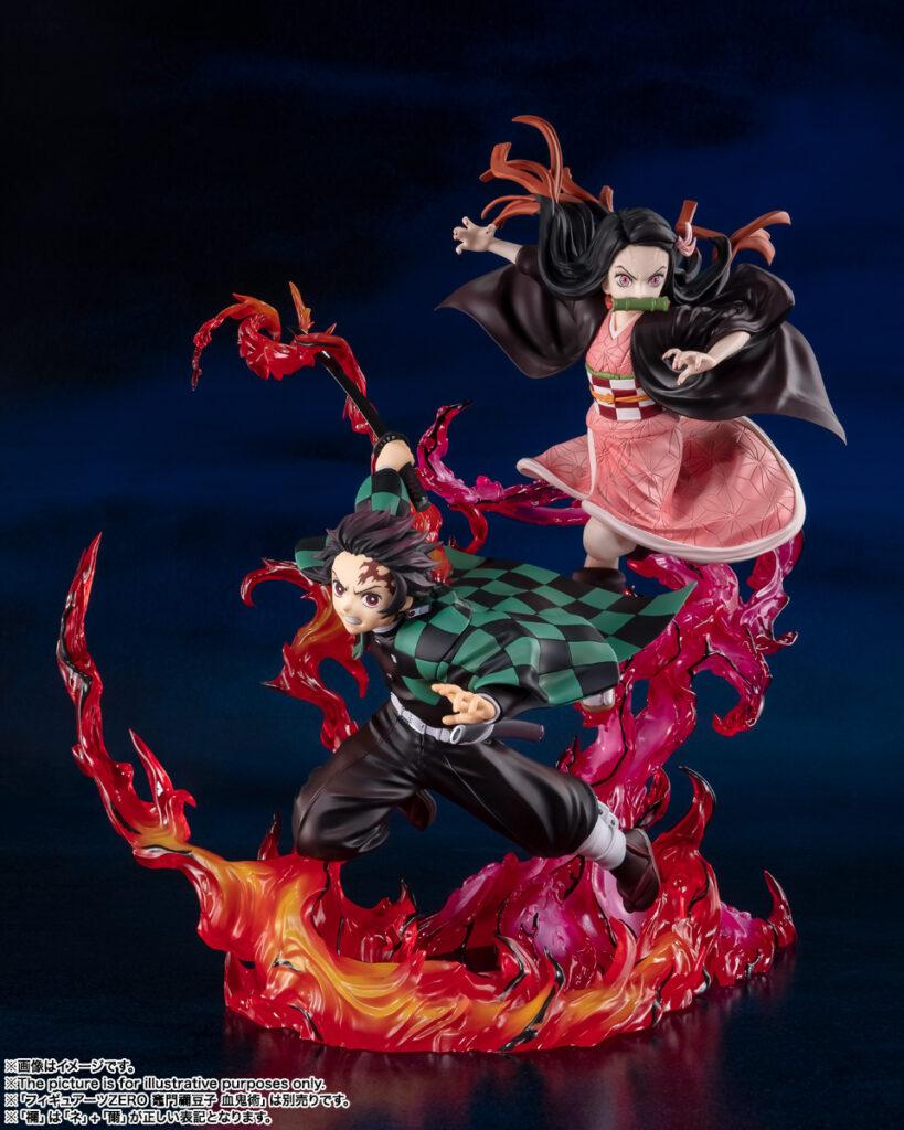 Tanjiro and Nezuko Figures from Demon Slayer