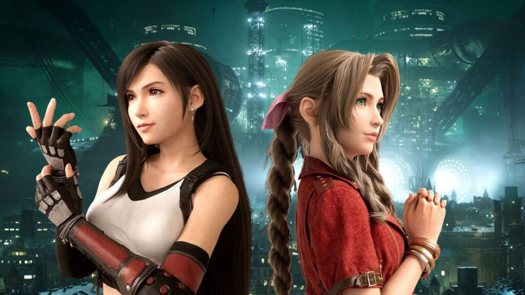 Tifa and Aerith from Final Fantasy VII