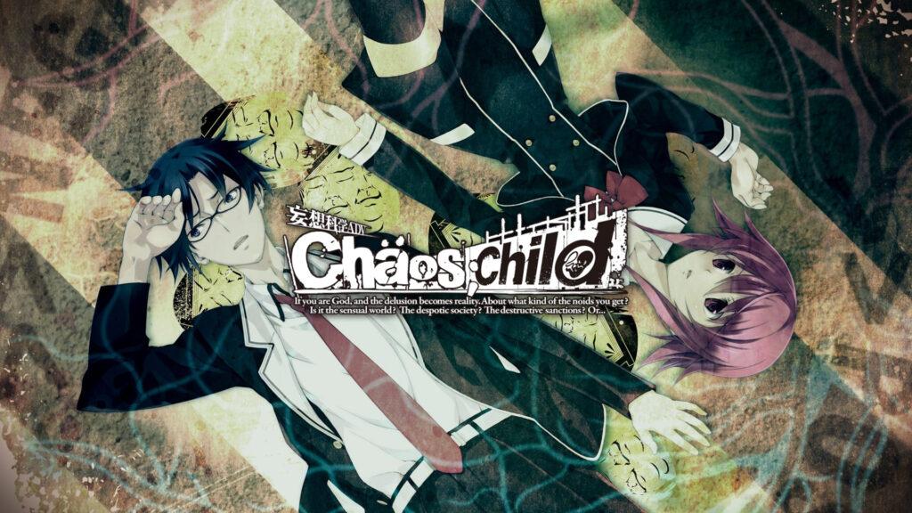 chaos child visual novel poster