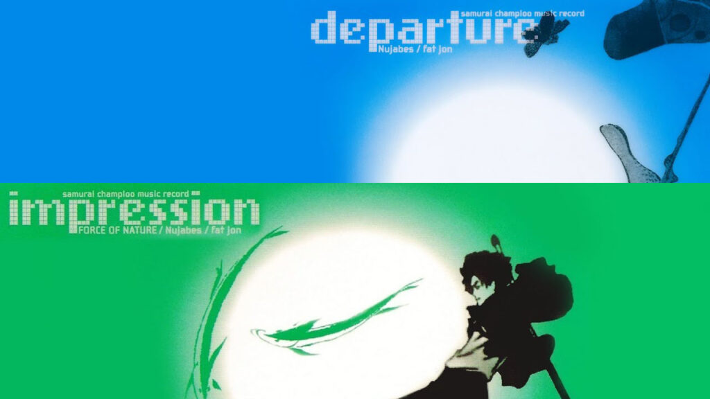 departure and impression album covers