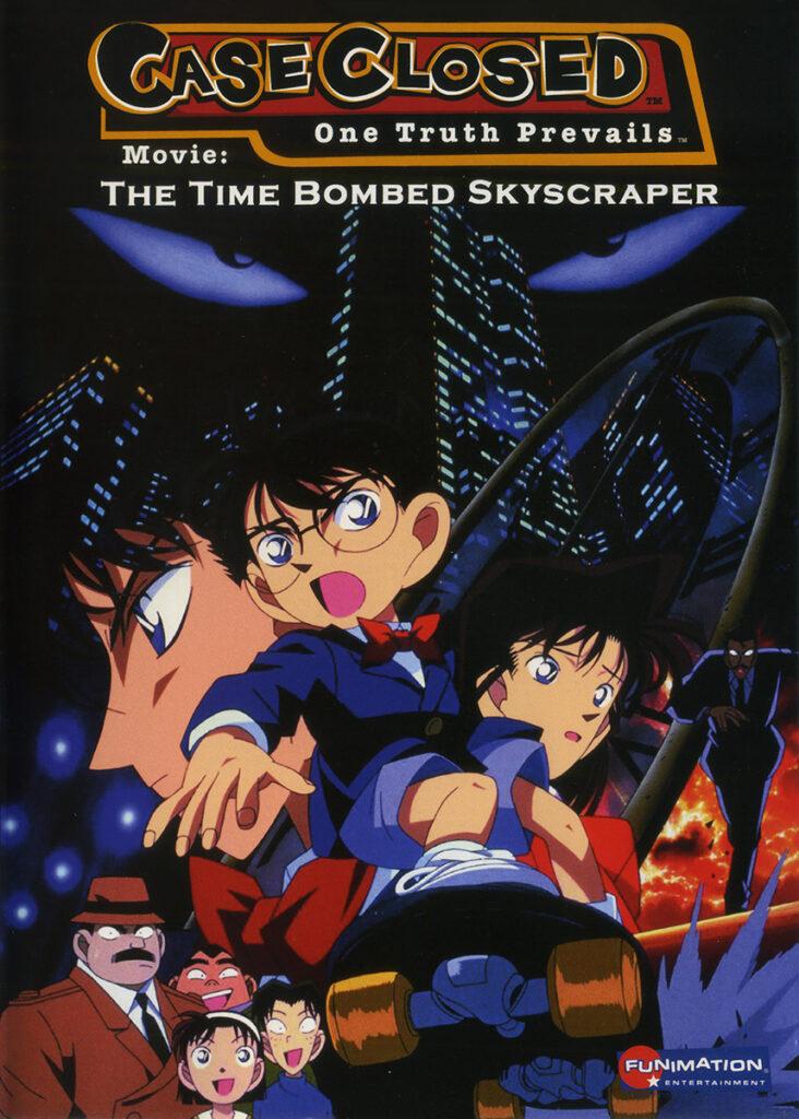 detective conan movie 1 time bombed skyscraper