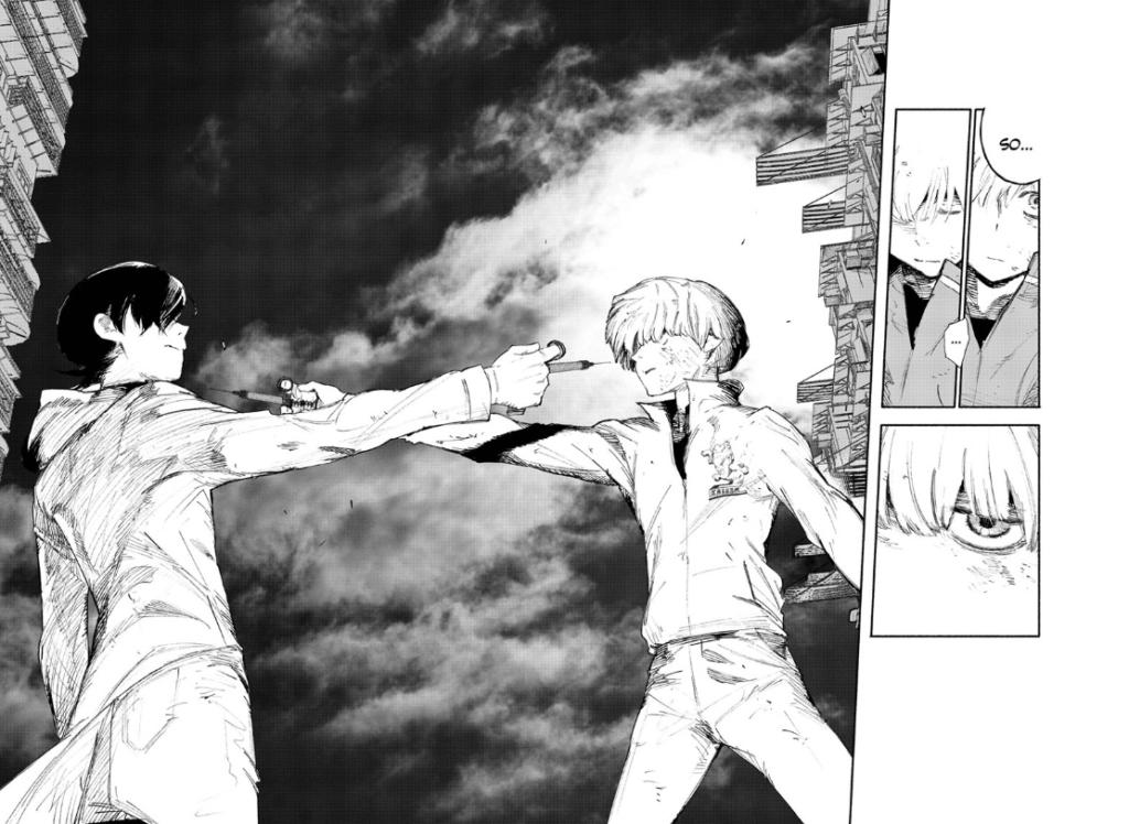 Screenshot from Choujin X chapter 1