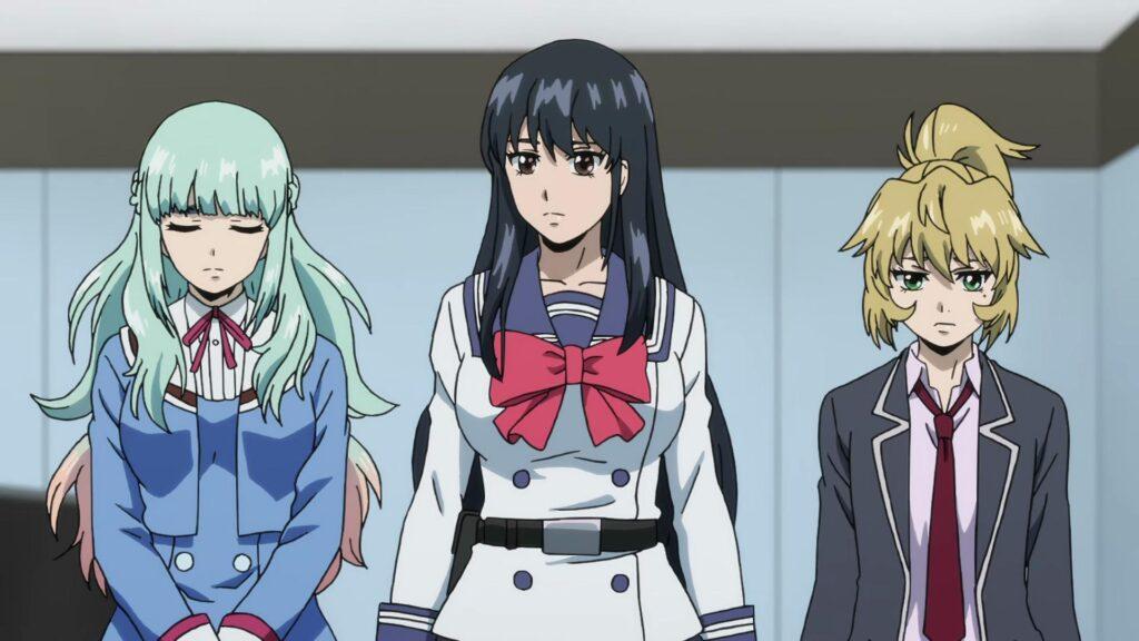 yuri, mayuko, and kuon
