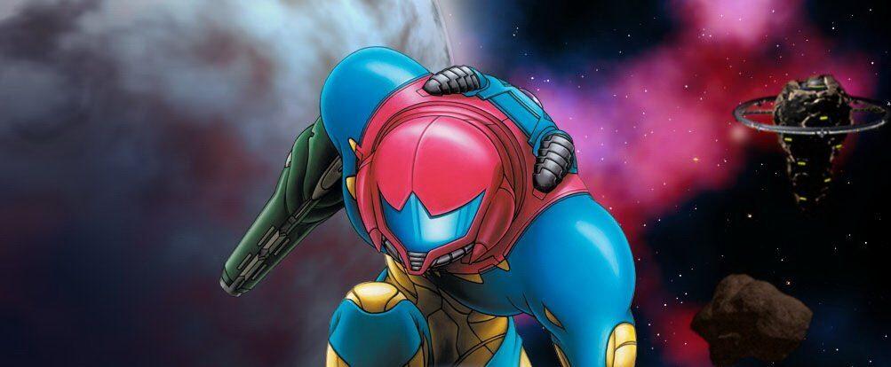 Samus from Metroid