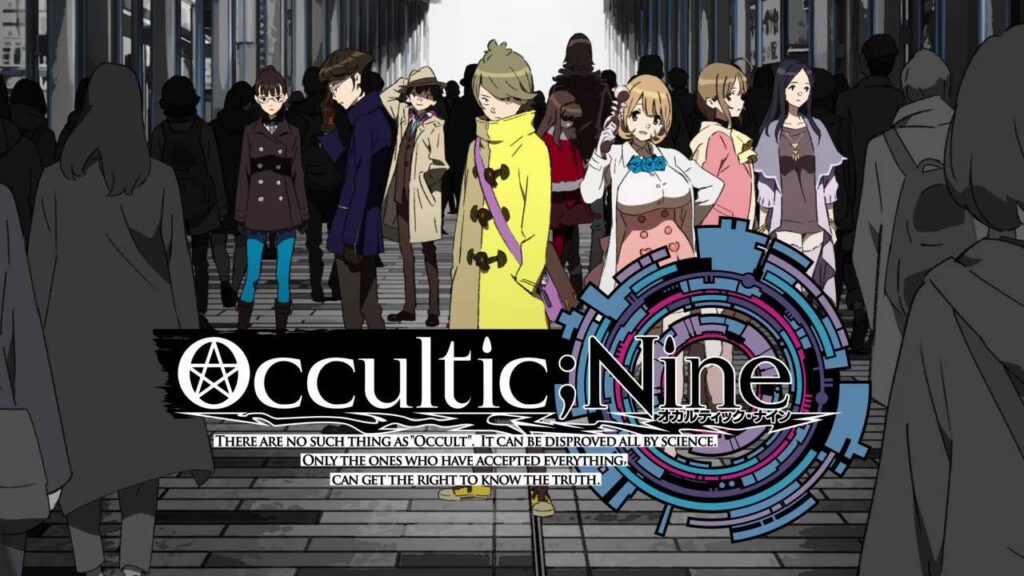 occultic nine game visual
